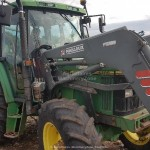 Vand pentru tractor incarcator Mailleux MX 120, an 2000. Complet